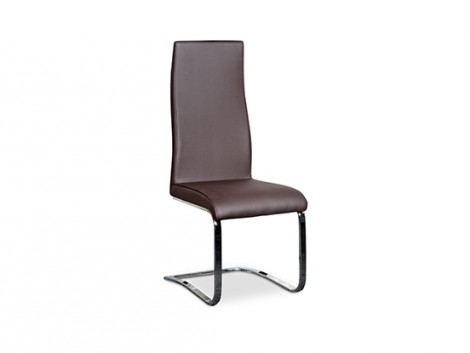 Cultdesign Chromstuhl ST Y819 brown